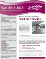 ElderCollege Newsletter Comox Valley