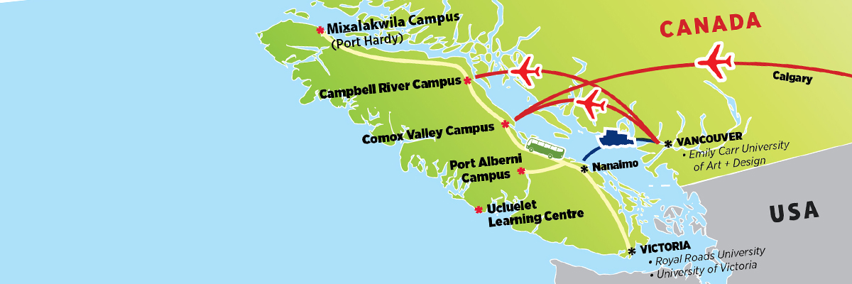 Our Locations North Island College