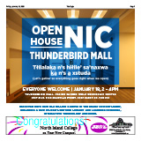 Cover of newspaper supplement on grand opening of NIC Port Hardy Campus.